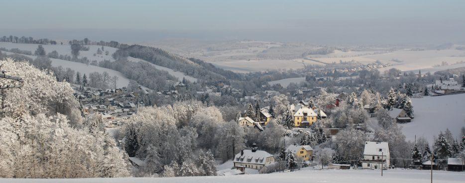 Pöhla im Schnee